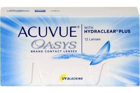 Acuvue Oasys 12 with Hydraclear Plus
